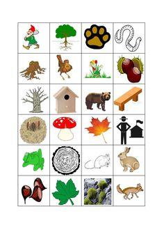 * Herfst: Bingo! De losse bingokaartjes! 3-3 Zou alle kaarten voor gebruik plastificeren!