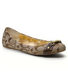 COACH DESTIN FLAT - Coach Shoes - Handbags & Accessories - Macy's