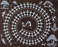 Must Art Gallery is the best among all art galleries in Delhi for Tribal Art Forms and Tribal and Folk Art Paintings in India. Visit our website and buy modern and contemporary art paintings. Worli Painting, Kerala Mural Painting, Indian Art Paintings, Madhubani Art, Madhubani Painting, Art Indien, Indian Folk Art, Smart Art, Traditional Paintings