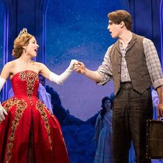 Christy Altomare and Derek Klena in Anastasia: The New Broadway Musical