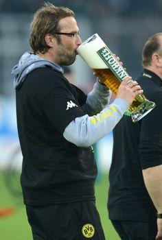 Celebrations, for Borussia...