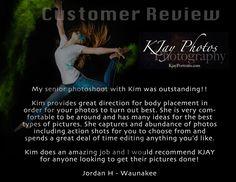I love what I do and love my customers.  #Passionate about #SeniorPics.  www.kjayportraits.com