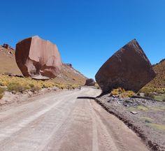 Ruta 40 de Sey a San Antonio De Los Cobres. Argentina