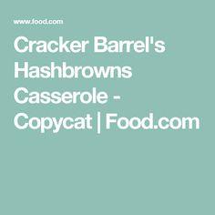 Cracker Barrel's Hashbrowns Casserole - Copycat   Food.com