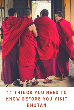 11 Things You Need to Know Before You Visit Bhutan - Away From The Office China Travel, India Travel, Japan Travel, World Travel Guide, Travel Guides, Travel Tips, Travel Goals, Worldwide Travel, Central Asia