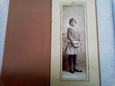 Edwardian photo of girl in hi-top shoes by ARTCPACKRAT on Etsy