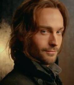 Tom Mison as Ichabod Crane.