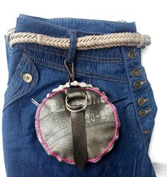 Ways To Use That Room Below Your Stairs Inner Tube Small Waist Purse Round Purse With Zipper Small Projects Ideas, Waist Purse, Best Bow, Diy Home Crafts, Small Waist, Stylish Outfits, Tube, Bows, Zipper
