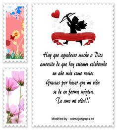 saludos de aniversario,frases de aniversario,buscar frases de aniversario: http://www.consejosgratis.es/frases-de-aniversario-de-novios-por-sms/