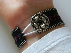 Tutorial: Zipper Bracelets.