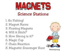 ~SALE!~ Magnet Science Stations