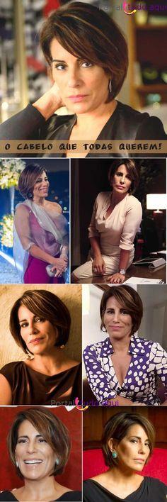 Saiba tudo sobre o corte e a cor do cabelo de Gloria Pires para sua personagem Beatriz na novela 'Babilônia'.