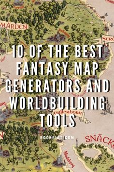 Fantasy map generators are great tools for both RPG players and storytellers in general. Here's a list of 10 great map generators you can use.