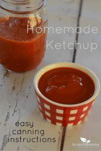 Homemade Ketchup Rec
