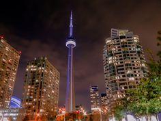 Toronto in the night by BastianLizut via http://ift.tt/2et24wr