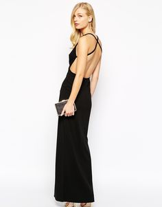 chic black gown