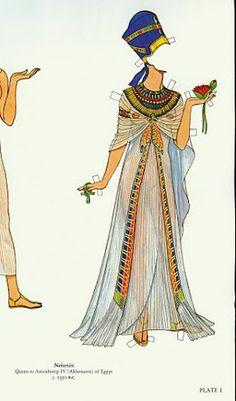 Great Empresses and Queens   Gabi's Paper Dolls