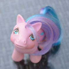 Vintage My Little Pony 'Baby Bright Bouquet' Pink Purple by TeaJay MLP