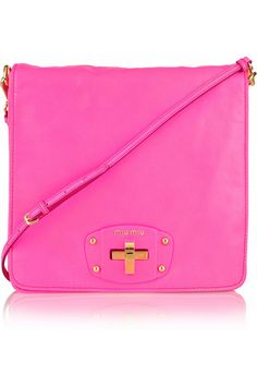 Miu Miu Leather Shoulder Bag. My next mission to get (: