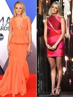 Carrie Underwood's Most Memorable CMA Awards Outfits Through the Years Carrie Underwood Cma, Carrie Underwood Pictures, Beaded Fringe Dress, Peplum Dress, Dress Up, Cma Awards, Outfits 2016, Red Carpet Dresses, Woman Crush