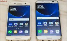 Samsung dá desconto de até R$ 2.400 na troca do seu celular por um Galaxy S7