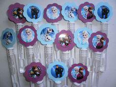 Disney Frozen party favor bubbles Disney Frozen by SassyCreationz