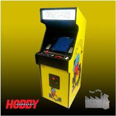 Sorteo Máquina Recreativa PacMan Arcade Games, Prize Draw, Blue Prints