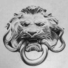Crazy Pencil Drawing by @josephwolfgrazi  give him a follow! Tattoo Pics, Picture Tattoos, Cool Tattoos, Armour Tattoo, Black And Grey Tattoos, Pencil Drawings, Animal Drawings, Tattoo Sketches, Mythology