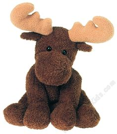 "This little moose looks an awful lot like our little friend in ""My Maine!""   Sweet Marlon Moose Sweet Rascals Stuffed Animal by Mary Meyer"