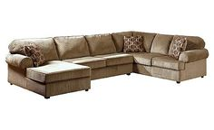 Vista - Cappuccino Sectional