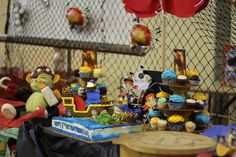 Jake and the neverland pirate party dessert table