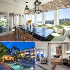 10 Million Dollar Baby: Hilary Swank Lists Her LA Home
