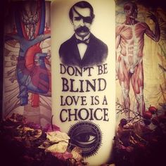 CANDLE - Don't be BLIND, love is a choice  www.coreterno.com