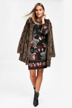 Petite Black Paisley Print Shift Dress - Dresses- Wallis Latest Fashion Dresses, Latest Dress, Paisley Pattern, Paisley Print, Print Shift, Wallis, Dress Styles, Shirt Dress