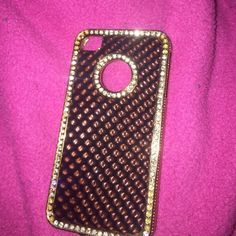 iPhone 4/4s case Perfect condition and super cute Other