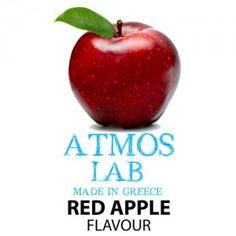Ηλεκτρονικό Τσιγάρο Άρωμα Κόκκινο Μήλο 10ml