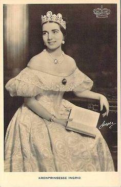 Kronprinzessin Ingrid von Dänemark, future Queen of Denmark | Flickr - Photo Sharing!