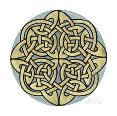 ✿ Tattoos ✿ Celtic ✿ Norse ✿ Shield Knot Design by omegalith