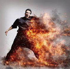 爆炸火焰特效 #PS #教學