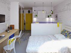 дизайн квартиры-студии 24 кв. м.