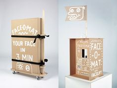 Tobias Gutmann - Face-o-mat as part of Design Anima