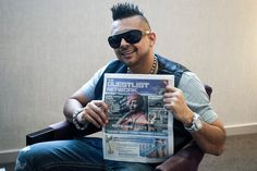 Sean Paul spotted with The Guestlist Network!