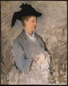 Madame Édouard Manet (Suzanne Leenhoff, 1830–1906) Metropolitan Mus. Adelaide Milton DeGroot. acc.# 81