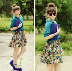 Color up! (vote for me in..)  (by Maddy C) http://lookbook.nu/look/3629577-Color-up-vote-for-me-in