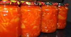 Kimchi, Preserves, Pickles, Salsa, Mason Jars, Stuffed Peppers, Dishes, Canning, Vegetables