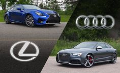 2015 Audi RS 5 or 2015 Lexus RC F. How do you like your V8-powered GT coupe?