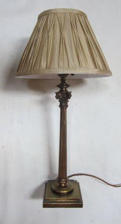 91 best antique table lamps images rh pinterest com