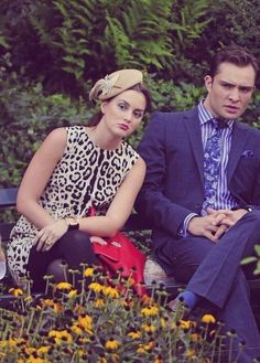 Chuck and Blair are judging you.