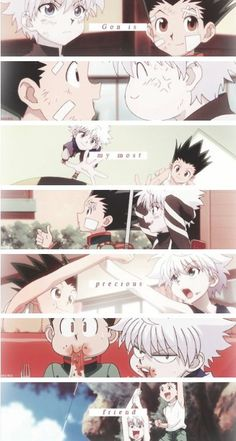 Gon and Killua ~Hunter X Hunter - anime Killua, Hisoka, Zoldyck, Hunter X Hunter, Anime Hunter, City Hunter, Me Anime, Anime Kawaii, Manga Anime