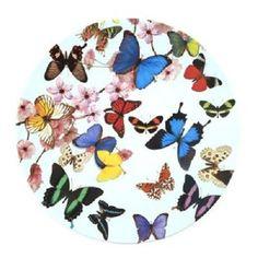 Splash - Butterflies - Melamine Photo Print Large Plate - 11ins/28cms: Amazon.co.uk: Kitchen & Home